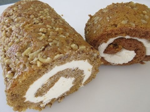 Libby's famous PUMPKIN ROLL - Learn to make a perfect PUMPKIN ROLL