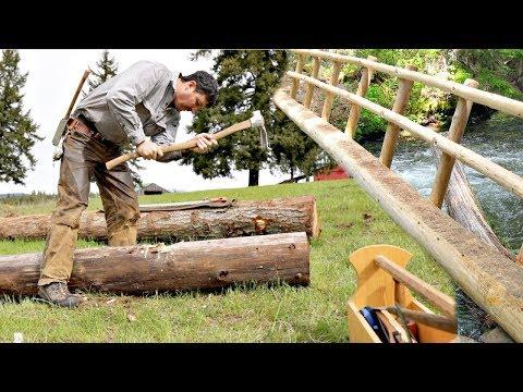 How To Build A Single Log Bridge 3