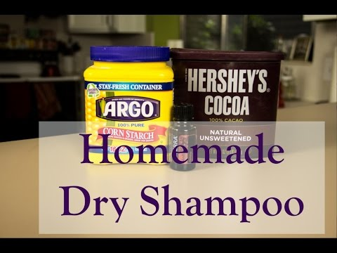 How to make your own Dry Shampoo.