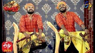 Hyper Aadi, Raising Raju Performance | Jabardasth  | 16th January 2020  | ETV Telugu
