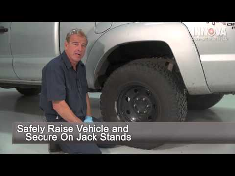 How to change Rear Shocks - 2005 Toyota Tacoma