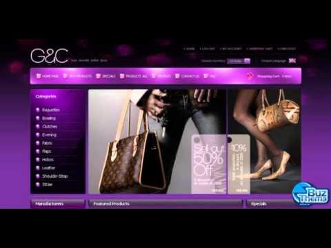 Download Handbag ZenCart Template by  Oldman TM ZenCart Templates
