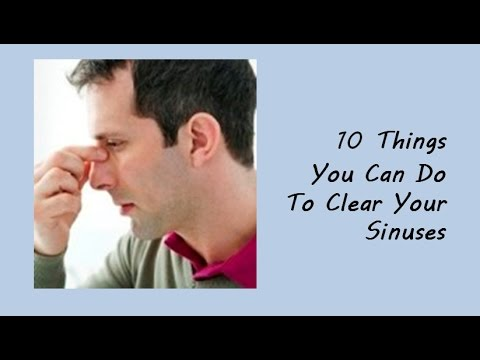 How to Cure Sinusitis/ Sinus Infection Naturally