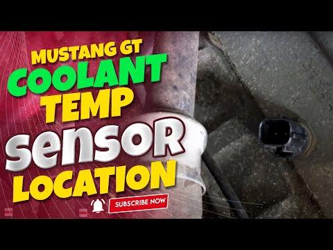 Coolant temp sensor location Mustang GT