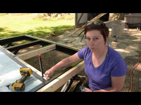 Building A Tiny House: Step 2 - Extending the Trailer