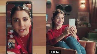 Virat Kohli Anushka Sharma Google Duo Ad