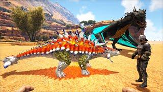 ARK: Ragnarok Mod #6 - Mình Qua Khu Sa Mạc Bắt Thêm Siêu Boss Manticore và DodoRex Lửa