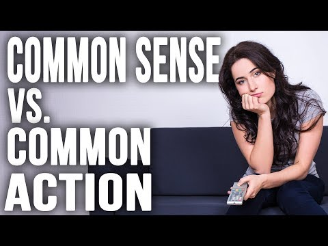 Why Common Sense is Useless - Depression and Anxiety Motivation to Improve Your Mental Health