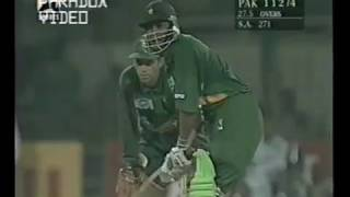 Pakistan 9/4 then INZAMAM & MOIN KHAN came to rescue - 133 Runs Stand - Vs South Africa at Lahore 97