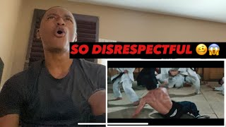HE MADE THEM HIS B*TCH😱😭 ||BRUCE LEE VS HONGKOU DOJO REACTION|| FIGHT NIGHT FRIDAYS🥊