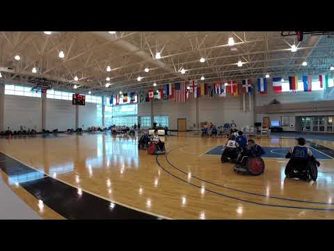 Detroit Wheelchair Rugby Club  versus St. Louis Period 4 (2018 03 18)