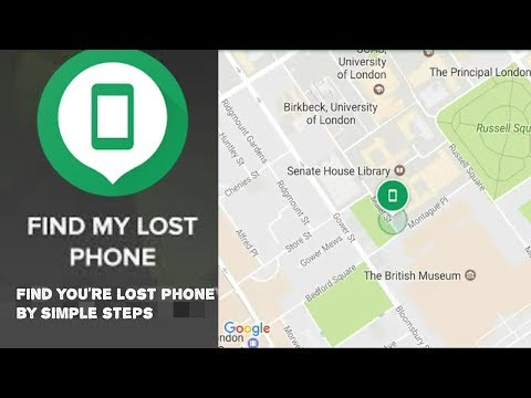 how to track lost or stolen phone live location by easy steps