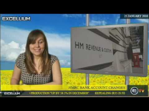 HMRC Bank Account Changes