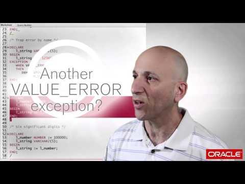 About that error: ORA-06502: numeric or value error