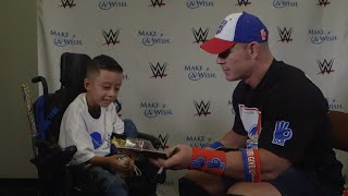 "Alex ""The Bulldog"" from Make-A-Wish designs a John Cena Mattel action figure"