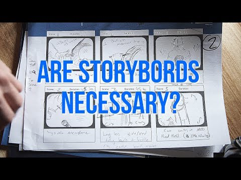 STORYBOARDS are they NECESSARY ? + HOW to MAKE them!
