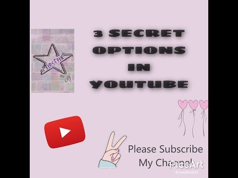 3 Secret Option in Youtube app (Download ,Background play,play video anywhre in screen)