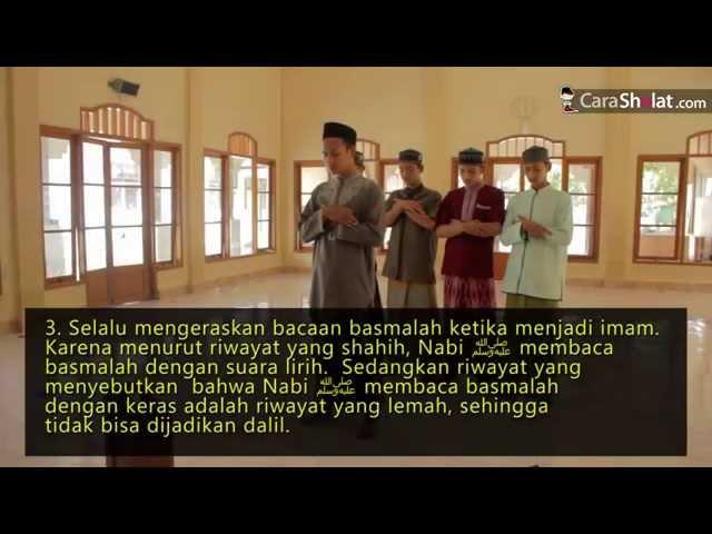 16. Serial Tuntunan Shalat Sesuai Nabi - Membaca Ta'awudz dan Basmalah - Carasholat.com (revisi)