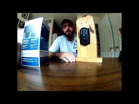 Pick Bump Proof Lock Schlage TouchScreen Keyless DeadBolt Lock Review BE375 V G2