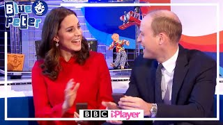 The Duke & Duchess of Cambridge get a Gold Blue Peter Badge | Prince William and Kate Middleton