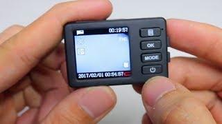Smallest dash camera