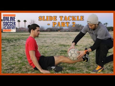 How to Slide Tackle *Part 2* - Online Soccer Academy