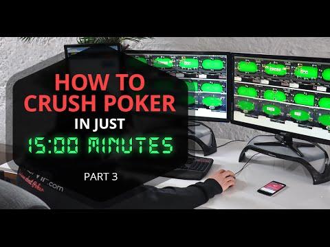The Ultimate 15 Mins Poker Study Guide -  Exploitative Approach Using Combonator