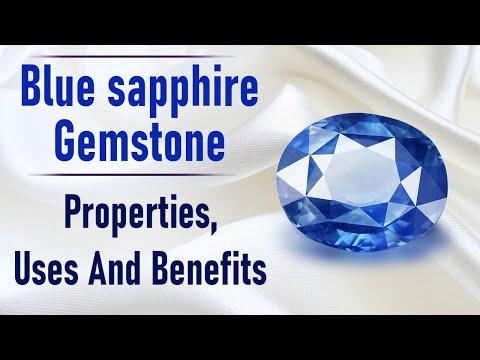 Blue sapphire Gemstone: Properties, Uses And Benefits - www.rudraksha-ratna.com