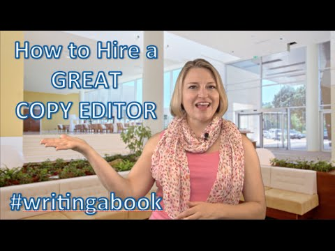 How to Hire a Copy Editor for Your Book