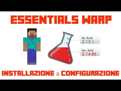 Essentials warp - Installazione & configurazione