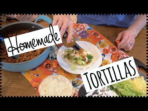 Delicious TACO RECIPE! + Homemade Tortillas! GLUTEN-FREE! Ground Turkey Tacos!
