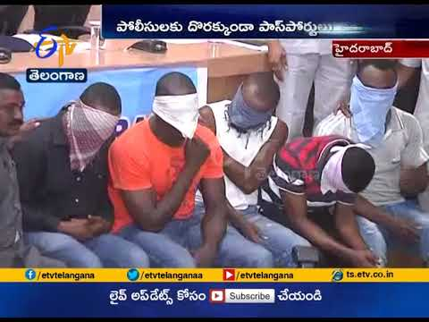 Foreigners Damaging Passports to Evade Deportation | at Hyderabad