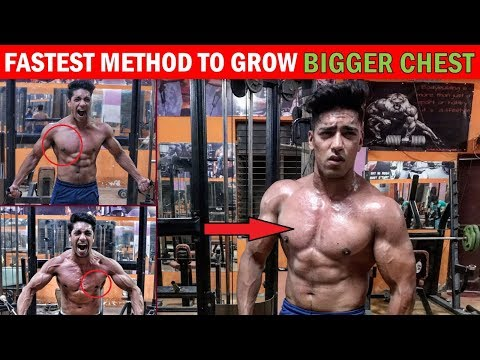 BEST CHEST WORKOUT | How To Build A Big Chest Naturally - Tips & Exercise