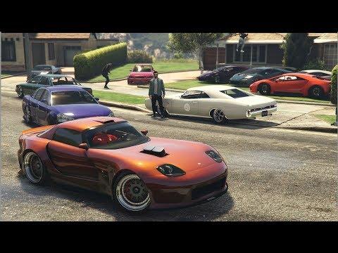 EPIC GTA 5 ONLINE CAR MEET