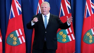 Ford takes aim at NDP during Northern Leaders