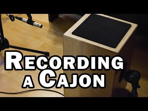 Recording a Cajon in the Home Studio
