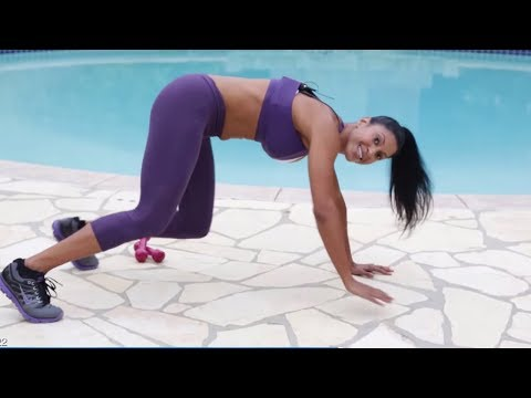 30- min HIIT Workout - Full Body HIIT Workout with Weights - Intense Workout