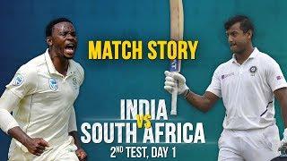 IND v SA, 2nd Test Day 1, Match Story: Mayank Agarwal's century   Rabada's attack
