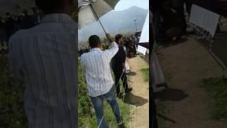 Aarya Babbar new movie shooting in kashmir tulip garden