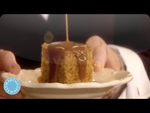 How to Make a Sticky Toffee Pudding  - Martha Stewart