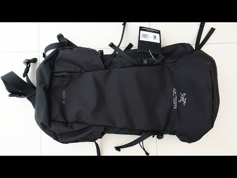 Arc'teryx Brize 32 Backpack - Unboxing and Initial Review