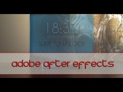 iPhone 5S Hologram - Adobe After Effects