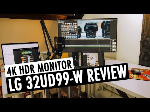 LG 32UD99 Review | 4K HDR Monitor | RehaAlev