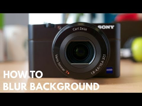 How to Blur Background in Digital Camera