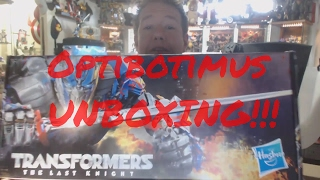 Transformers The Last Knight Hasbro PROMOTIONAL UNBOXING