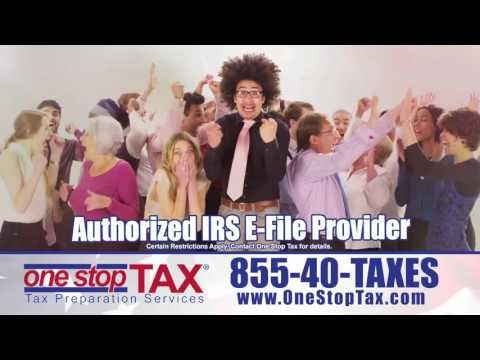 Get More Money This Tax Season with One Stop Tax