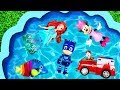 Learn Characters With Pj Masks Barbie And Paw Patrol For Kids Disney Toys For Toddlers