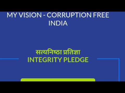OUR VISSION--CORRUPTION FREE INDIA 👍#7👌