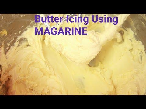 Margarine icing