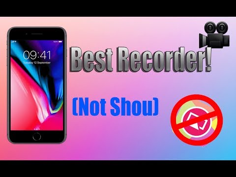 Best screen recorder for iOS 2018! [FREE]
